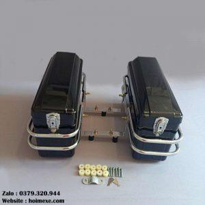 cặp thùng hông honda cd cm cb màu đen
